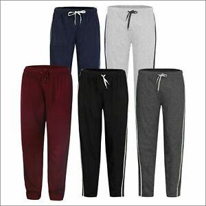 Mens Lounge Pants Nightwear Comfy Striped Trousers Bottoms Pyjamas Jog S to 2XL
