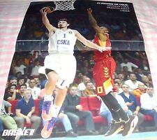 Poster Basketball Larry Johnson Hornets Charlotte Cholet 60 X 80 Cm Basketball-other