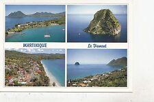 BF28183 le bourg du diamant  martinique caribbean islands front/back image