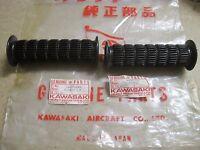 KAWASAKI NOS GRIP SET MT1 KV75 G3 G3SS G7 KC100 46075-020 & 46061-015