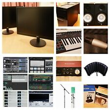 More details for complete home recording studio equipment and digital audio software set !!