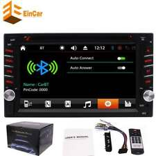 """6.2"""" Double Din Car Stereo Radio HD DVD MP3 CD Player Touch Screen USB +CAMERA"""