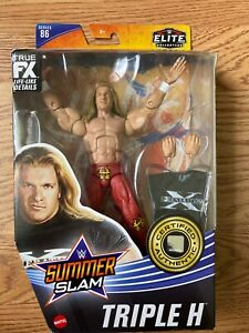 WWE ELITE COLLECTION SUMMER SLAM SERIES 88 TRIPLE H RED TIGHTS CHASE VARIANT NEW