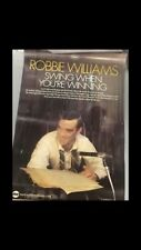 ROBBIE WILLIAMS SWING WHEN YOURE WINNING RECORD SHOP PROMOTIONAL POSTER