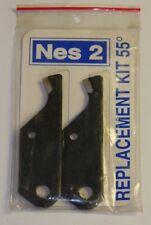 Cuchilla de repuesto para NES-2 2 paquete de herramientas de reparacion de Rosca 1 cada 55 °