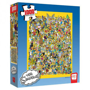 1000 Piece Jigsaw Puzzle - The Simpsons Casting Call
