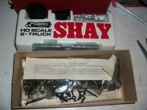 Roundhouse 2 Truck Shay Locomotive Kit HO