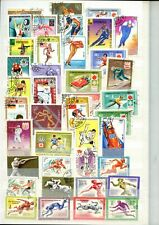 Sports, Olympic Games, Athletics, Thematics Stockpage Full Of Stamps #W955