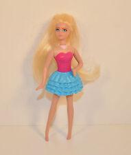 """2011 Pink & Blue Fairy 5"""" McDonald's #1 Action Figure Barbie A Fairy Secret"""
