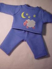 Für little Baby Born 32 cm Kleidung  Schlafanzug