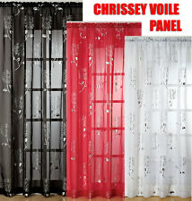 Chrissey Voile Panel (choice of colours and sizes)