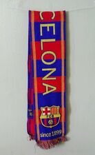 NWOT FC BARCELONA FAN SCARF WINTER SOCCER - AUTHENTIC & OFFICIAL APPAREL