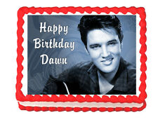 Elvis edible cake image cake decoration frosting sheet - personalized free!