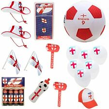® ENGLAND Party Bundle - 16 Pieces - Euro 2021 Football Party - End Of