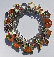 Mickey Mouse Bracelet Disney Halloween Minnie Mouse 14 Charms