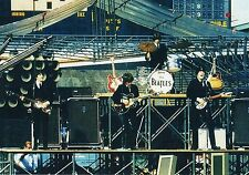 The Beatles On Stage Comiskey Park Chicago August 1965 Photo Print