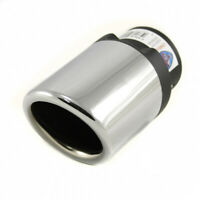 Exhaust Tip Trim Pipe Tail Muffler Chrome For MINI Cooper Clubman Countryman