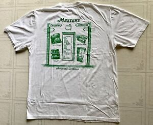 Masters golf concessions t-shirt large white 2021 masters pga augusta new