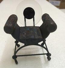 Take A Seat By Raine Full Circle Chair c.2000 Dollhouse Figurine #24036