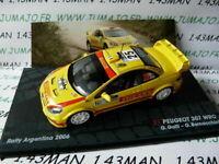 RIT40 voiture 1/43 IXO Altaya Rallye : PEUGEOT 307 WRC GALLI ARG 2006 Pirelli