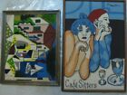 Picasso 2 Vintage Canvas Yarn Needlepoint Artwork one titled Cafe Sitters