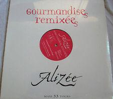 """ALIZÉE - MAXI (12"""") """"GOURMANDISES REMIXÉES"""" - NEUF SOUS BLISTER D'ORIGINE"""