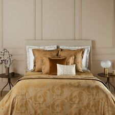 CASTEL BY YVES DELORME FRANCE, COTTON SATEEN PILLOWCASE IN BUTTERSCOTCH COLOR
