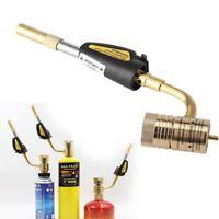 Gas Self Ignition Turbo Torch Brazing Soldering Propane Welding Plumbing Tool