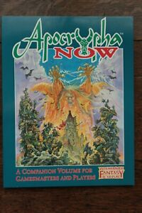 Apocrypha Now WFRP Warhammer Fantasy Role Play 1st Edition Campaign 1995