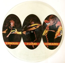 """TOYAH - BE PROUD BE LOUD (BE HEARD) (12"""") (PICTURE DISC) (EX/NM)"""