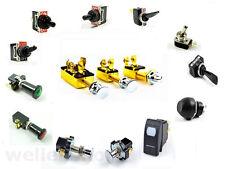 Kippschalter 12 oder 24 Volt Schalter Kill Switch Auto Boot KFZ Tastschalter