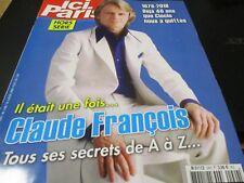 """REVUE """"ICI PARIS H.S. : IL ETAIT UNE FOIS CLAUDE FRANCOIS"""""""