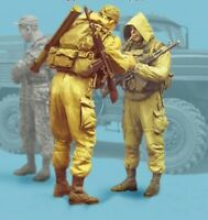 1/35 Resin Modern Russian Special Force 2 Soldiers Unassembled Unpainted BL674