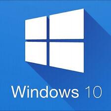WINDOWS 10 PRO PROFESSIONAL 32 / 64 BIT GENUINE PRODUCT LICENSE KEY