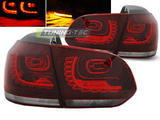 VW GOLF 6 2008 2009 2010 2011 2012 LDVW70 LUCI POSTERIORI RED WHITE LED