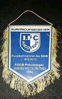 Wimpel 1.FC Magdeburg aus den 80zigern DDR Oberliga FDGB Pokalsieger EC 74 FCM