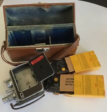 Bell & Howell Filmo Auto-8 With Case and 2 Film Packs