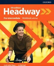 Oxford HEADWAY Pre-intermediate Fifth Edition Workbook With Key @NEW@