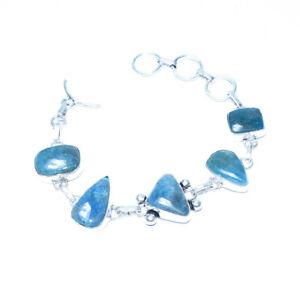 "Gogunjula Gemstone 925 Silver Jewelry Bracelet 7-8"""