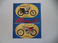 advertising Pubblicità 1972 MOTO MALAGUTI HOMBRE 50/CAVALCONE CROSS 50 R
