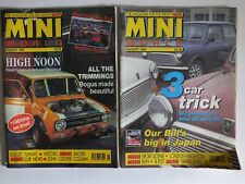 MINI WORLD MAGAZINES AUGUST 1993 & AUGUST 1994 ENGINE TUNING RACING