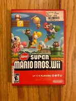 Super Mario Bros. Wii (Nintendo Wii) Game Leaps Into Adventure Up To 4 Players