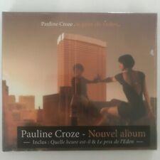 Pauline Croze le prix de l'eden cd 11 titres neuf sous blister