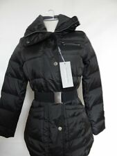 Andrew Marc Miner Belted Puffer Jacket XS Black MW2AD414  NWT