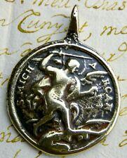 Spanish Colonial Army Artilleryman St. Barbara & St. Michael Protection Medal