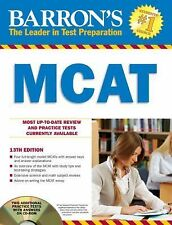 Barron's MCAT with CD-ROM-ExLibrary