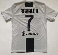 Ronaldo Juventus Jersey 2018 2019 Home Small Shirt Soccer Football Adidas