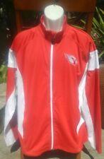ARIZONA CARDINALS Men's Red NFL Football 🏈 Full Zip Soft Shell Jacket Sz Large