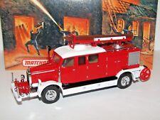 MATCHBOX MODELS OF YESTERYEAR 1938 MERCEDES KS15 FIRE TRUCK  YFE07