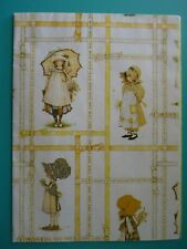 Vintage 1977 Holly Hobbie Gift Wrap Sheet American Greetings 40x30